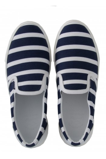 Slip-on righe Paul&Shark