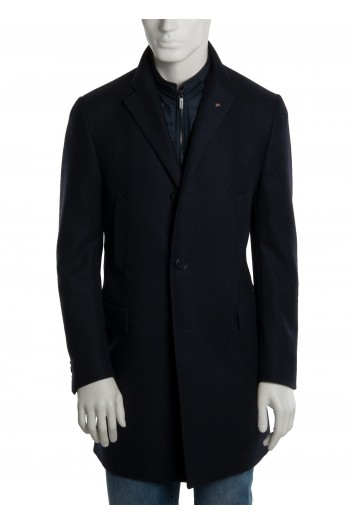 Cappotto blu con pettorina CC Collection Corneliani