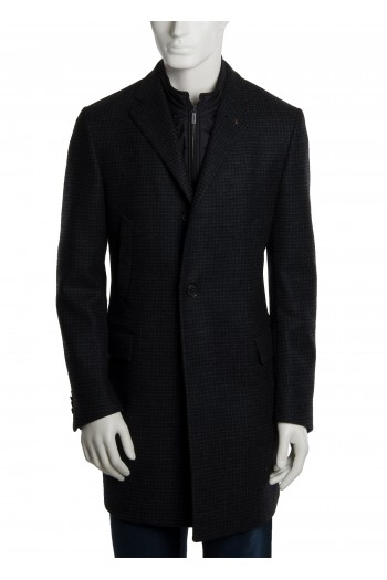 Cappotto grigio con pettorina CC Collection Corneliani