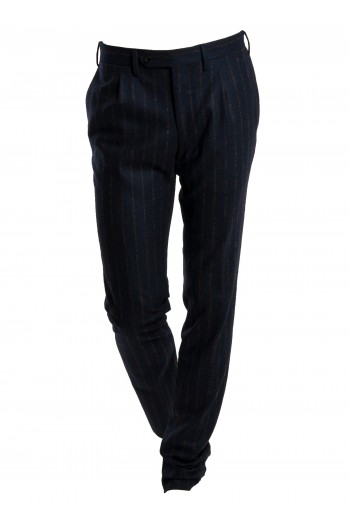 Pantalone righe con pinces Germano