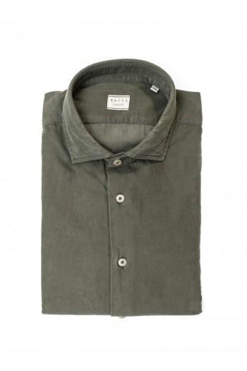 Camicia in velluto Xacus