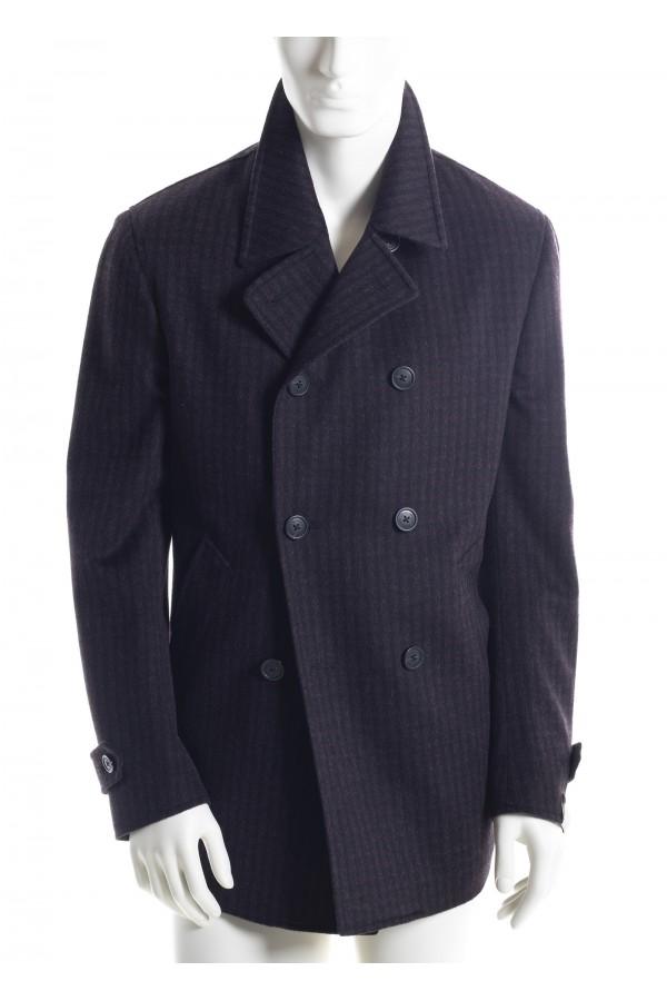 cappotto prugna uomo